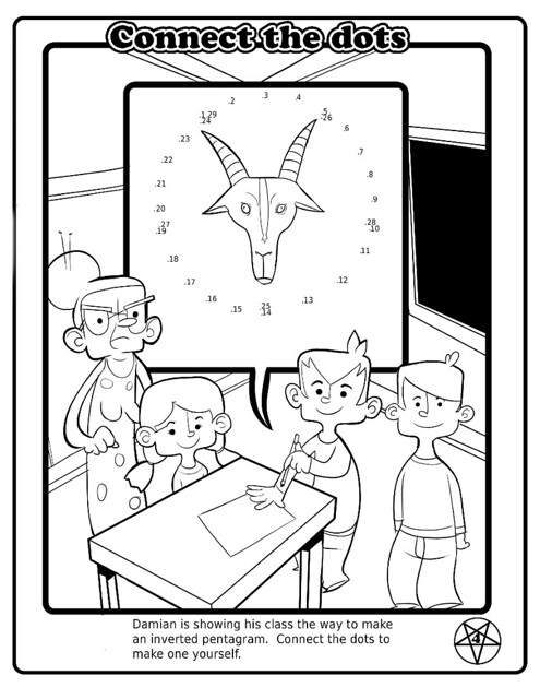 The Satanic Children's BIG BOOK of Activitiesmes