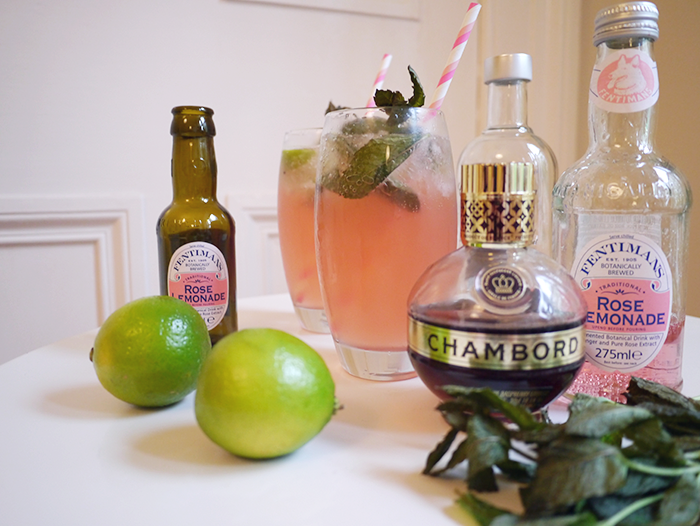 fentimans rose lemonade cocktail 2