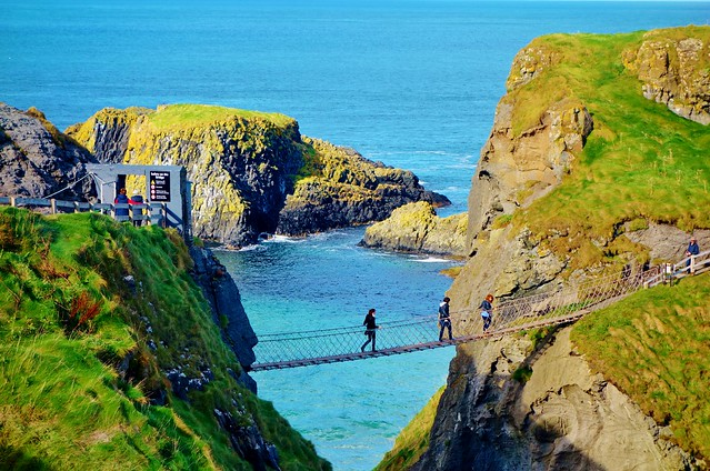 Carrick-a-Rede Rope Bridge, Causeway Coast, Northern Ireland