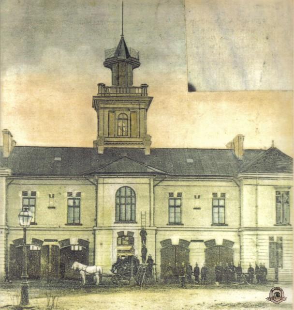 Focşani - Cazarma pompierilor 1905