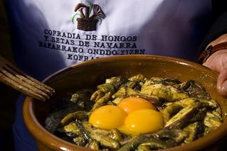 Exaltación del hongo, en Elgorriaga. Foto: Patxi Uriz.