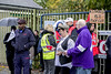 City Hospital Picket Dudley Road  (Oct 2014)  012