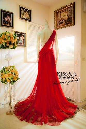 高雄KISS九九麗緻婚紗-推薦婚紗禮服-限量訂製款4 (3)