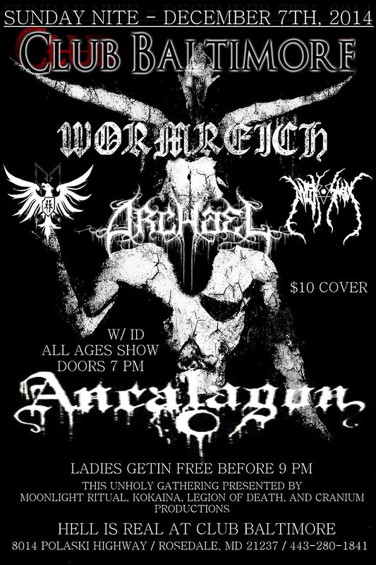 Wormreich at Club Baltimore