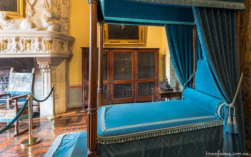 Diane de Poitiers' Bedroom - Château de Chenonceau