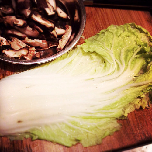 Braised Cabbage with Dried Shrimp and Mushroom 白菜燜香菇蝦米 ...