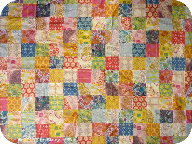 Little Folks Quilt Top