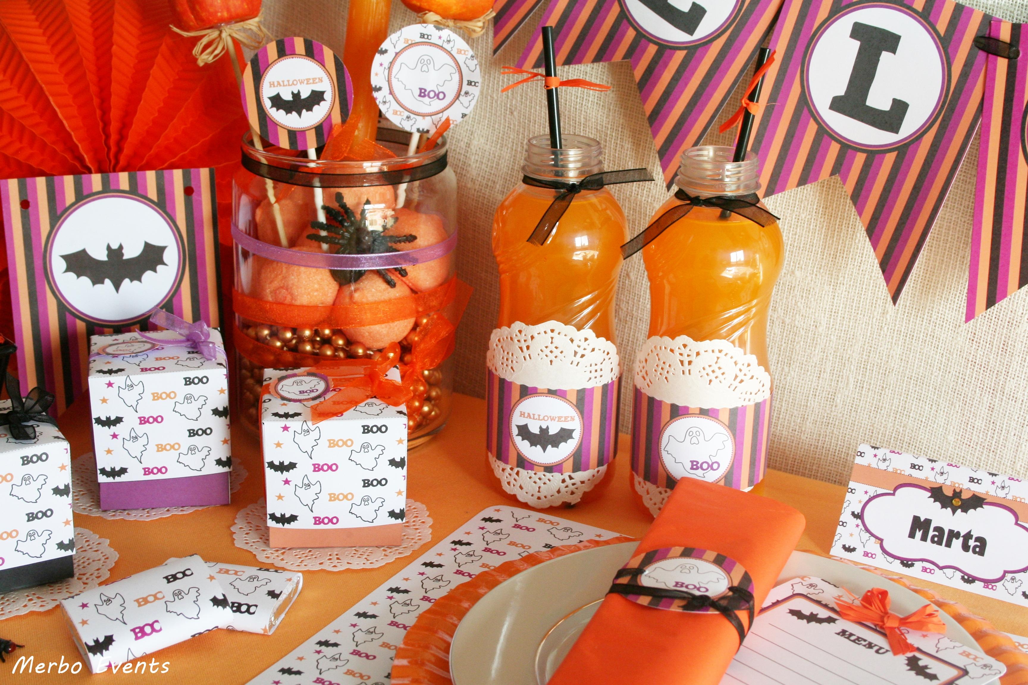Kit imprimible Halloween