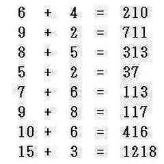 What's the pattern? (fun one) #mathchallenge