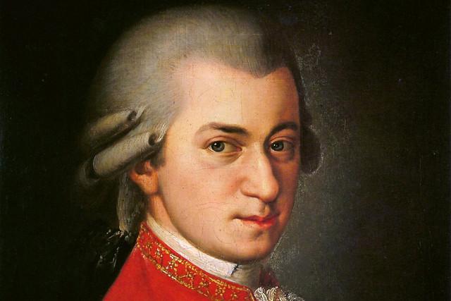 Wolfgang Amadeus Mozart, posthumous portrait by Barbara Kraft, 1819