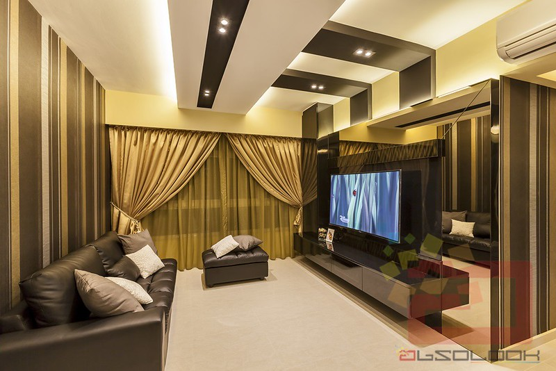 living trio gold color scheme exudes a palais style of living within