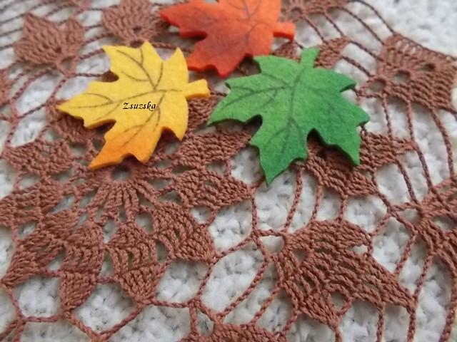 horgolt, terítő, ősz, autumn, crochet, doily, tablecloth (3)