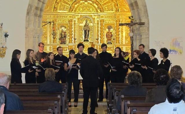 2012-11-03 Coro Odyssea Igreja da Luz (Lagos)