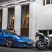 Lovely blue Porsche 991 GT3.