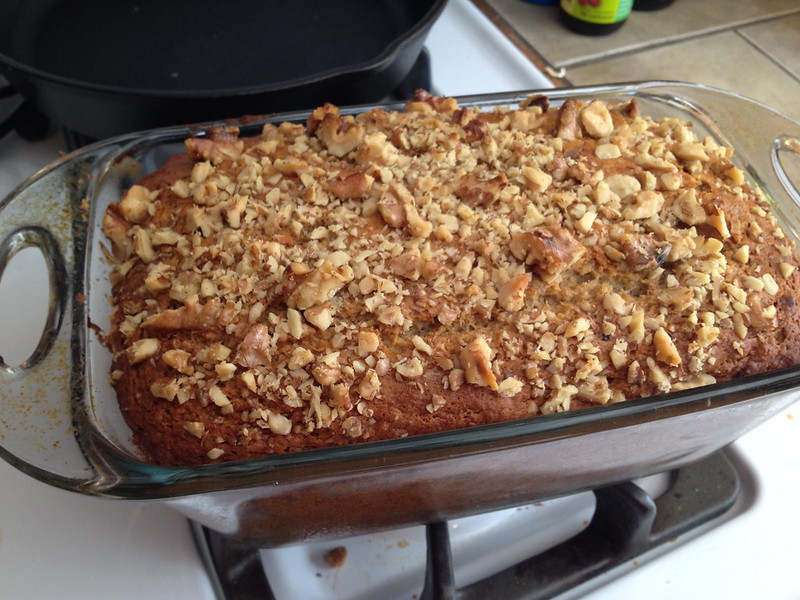 Sugarless Banana Bread