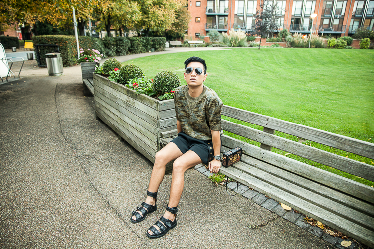 Bryanboy wearing an Isabel Marant top in London