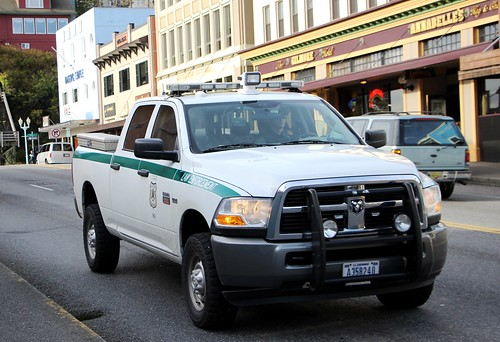 DODGE Ram 2500 - UNITED STATES Forest Service LAW ENFORCEMENT - Ketchikan Alaska