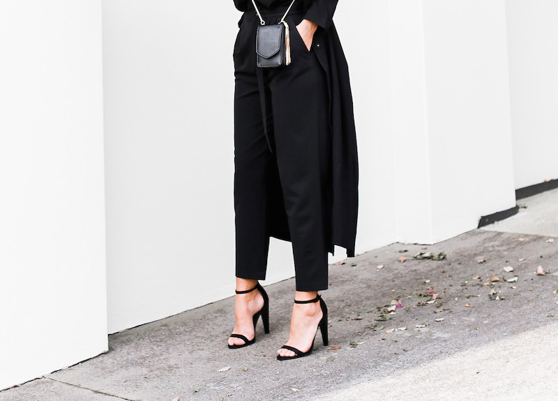 MODERN LEGACY x ASOS Spring Racing All Black outfit street style (3 of 10)