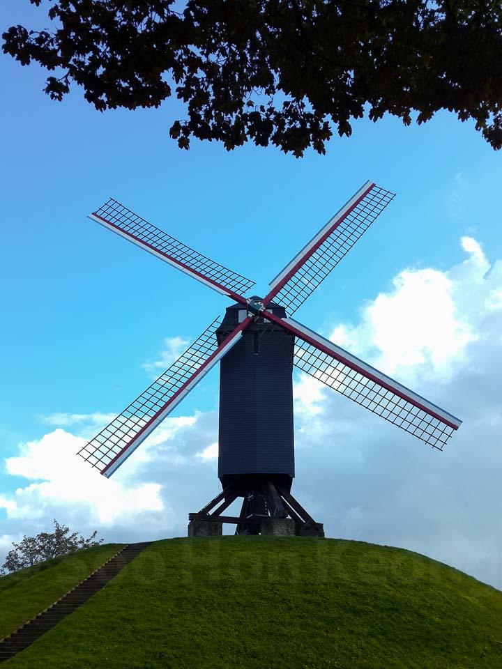 Windmill @ Bruges, Belgium (Mobile Shots)