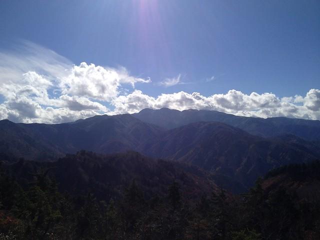 白山スーパー林道 ふくべ山展望台からの眺望
