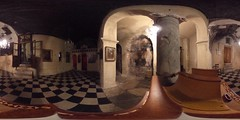 Cathedral Anafiotika (1050) inside in 360 degrees | #TBEX