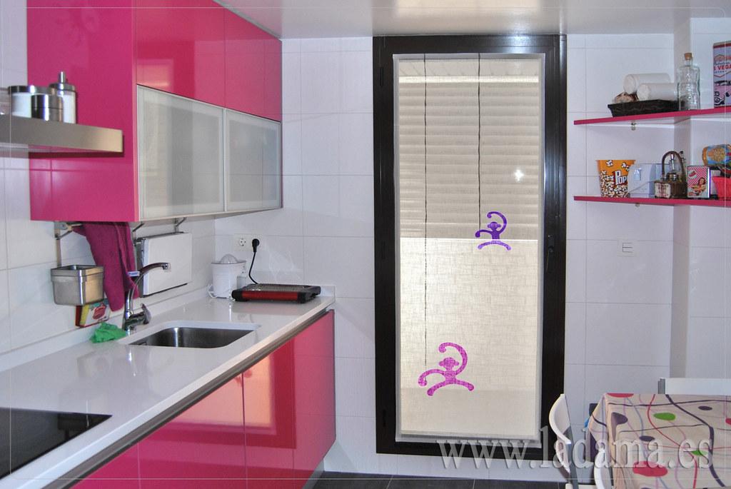 Fotograf as de cortinas de cocina la dama decoraci n for Cortinas para cocina modernas 2015