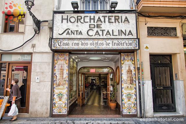 Horchatería, Valencia