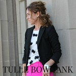 how to make a tulle bow tank tutorial via Kristina J blog