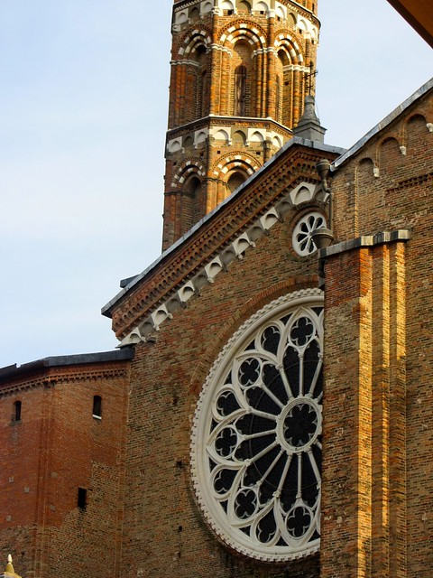 Details of Saint Anthony's Basilica in Padua