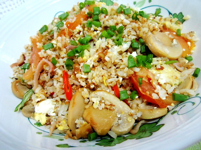 STP's bacon fried rice