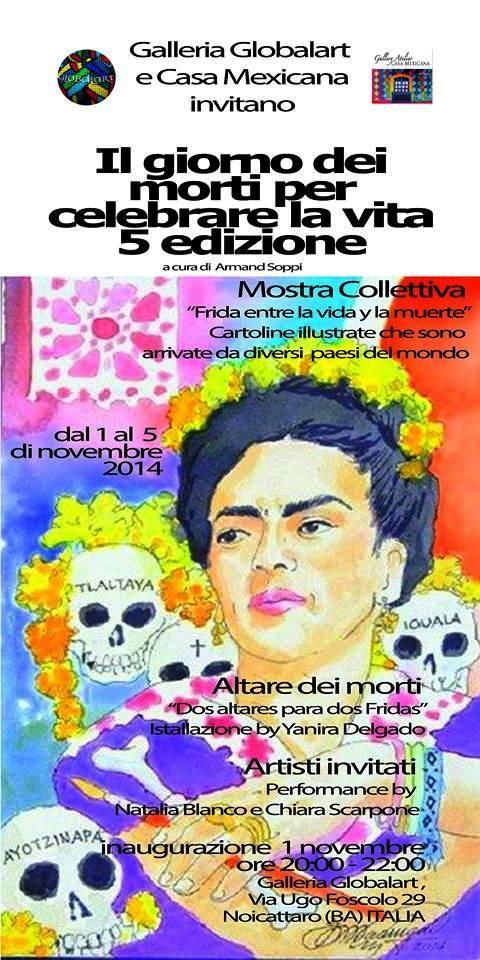 Noicattaro. Mostra Globalart 1 Nov 2014 intero