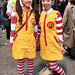 Halloween Costumes on the Street in Shibuya