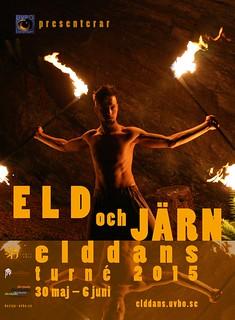 Elddansturné 2015 i Sverige