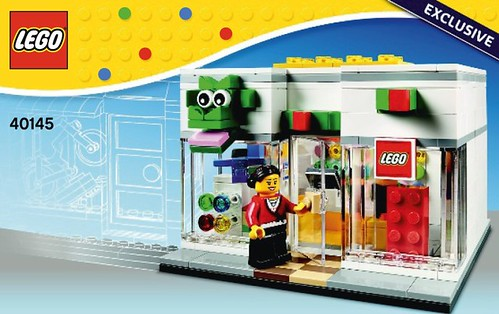 LEGO Brand Retail Store 40145