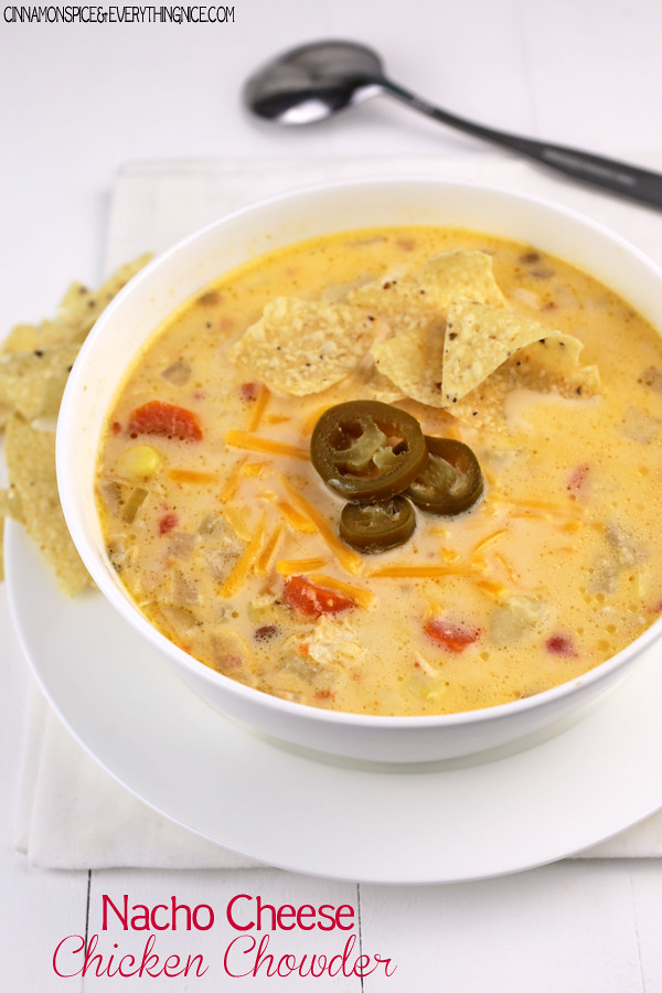 Creamy, cheesy chowder spiced with jalapeno peppers and cheddar cheese. Cozy and comforting!