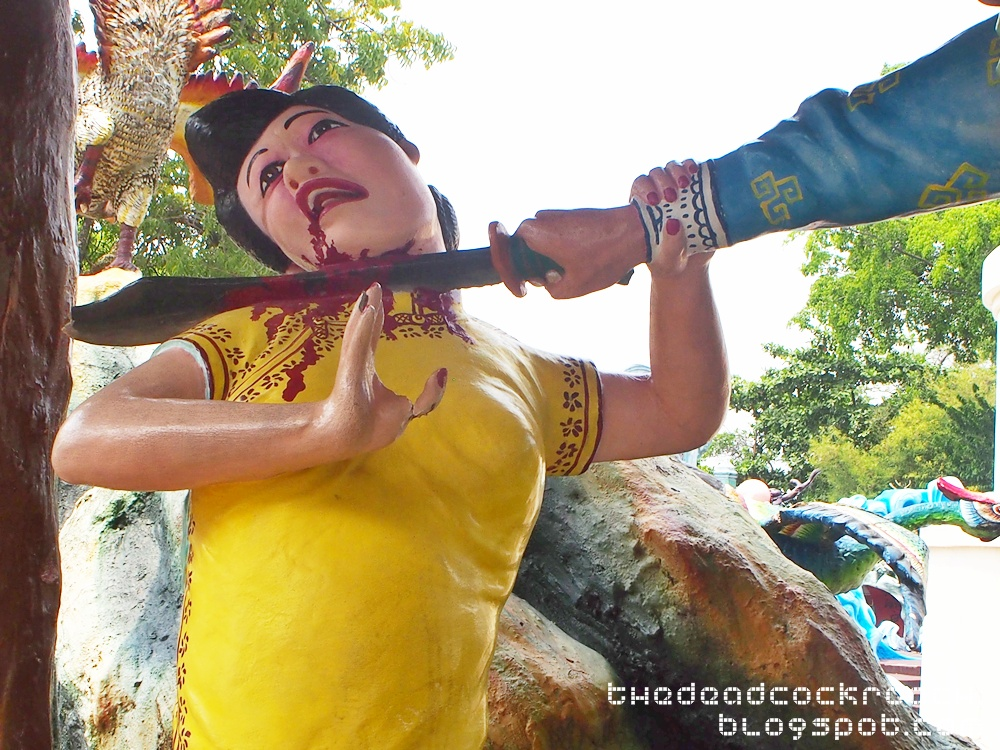 aw boon haw, aw boon par, chinese values, folklore, haw par villa, mythology, sculptures, statues, ten courts of hell, tiger balm, tiger balm garden, 虎豹别墅, singapore, where to go in singapore,wusong,water margin,武松杀嫂,水浒传,武松