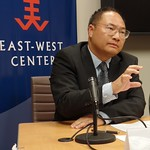 Mr. Pan Tao discussed the serious threats that China faces as a result of climate change.