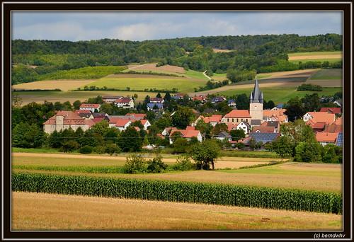 landscape deutschland hessen landschaft netra nordhessen werrameisnerkreis ringgau