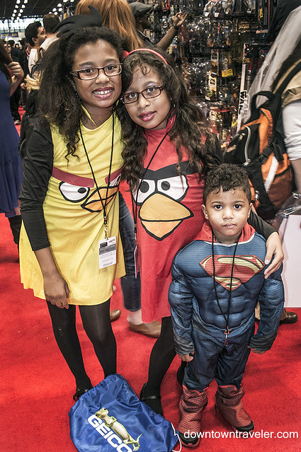 NY Comic Con 2014 Angry Birds Costume