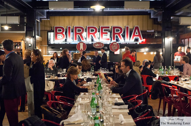 Birreria and the guests