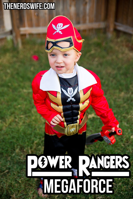 Power Rangers Toddler Costume