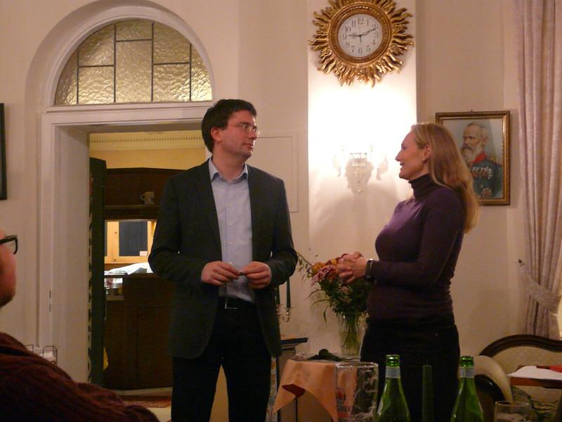 Mitgliederversammlung mit Florian von Brunn, 05.11.2014