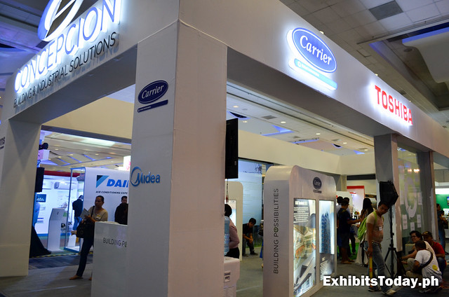 Concepcion Carrier Trade Show Booth