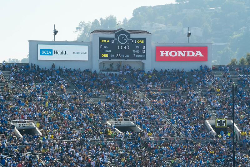UCLA at Rose Bowl Stadium