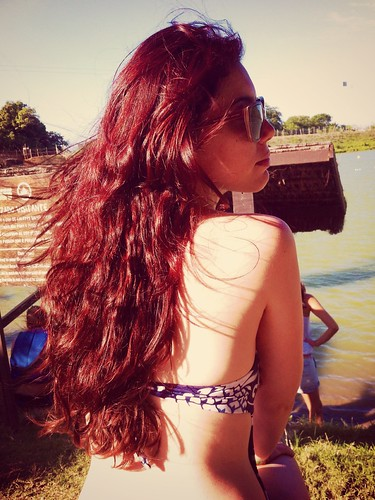 summer hair crazy mess redhead sideview redhair ipark