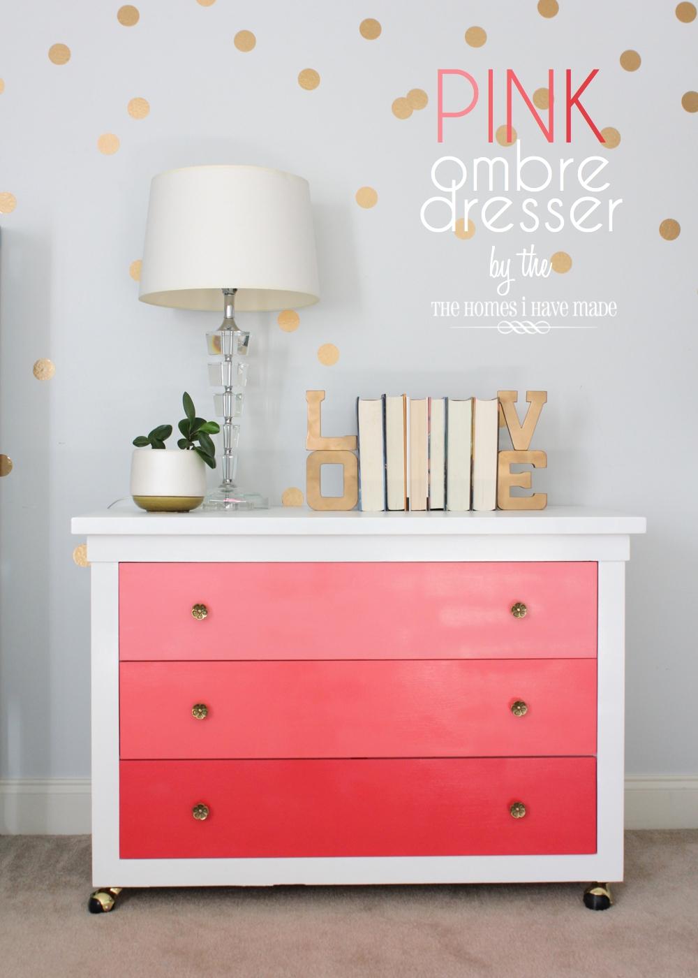 Pink Ombre Dresser-022