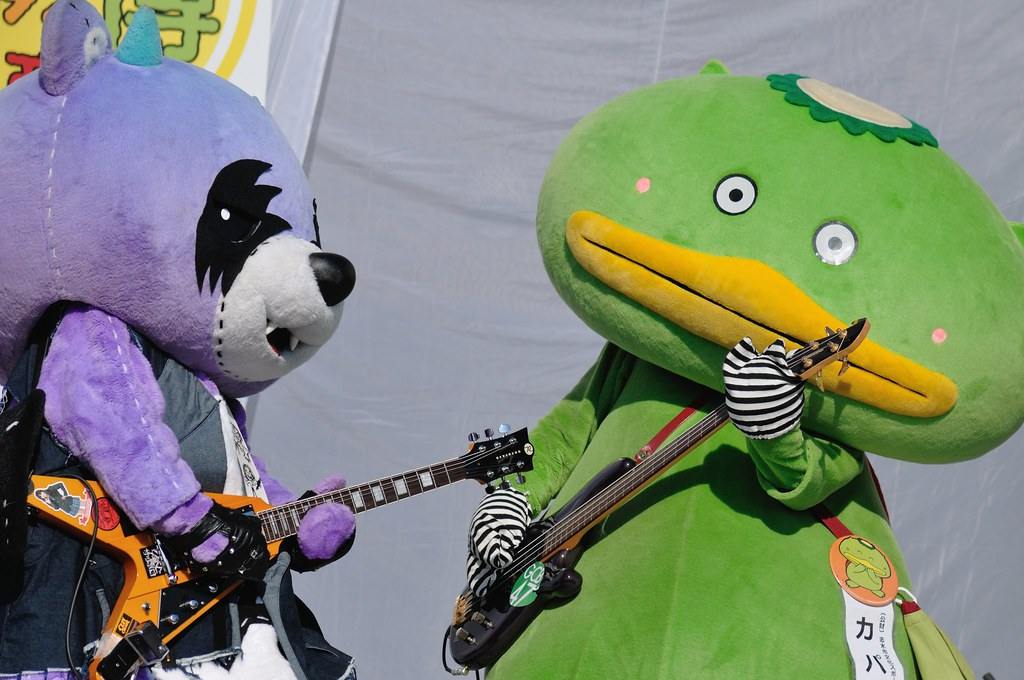 Guitar:Akkuma(Sapporo City, Hokkaido Pref) & Bass:Kapal(Shiki City, Saitama Pref.)