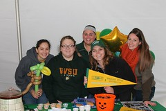 C13953 Julia Acosta, Leadership Launch for Organizational Leadership 9-9-14EHS Dean's Student Advisory Council at the Homecoming Chili Cook-off