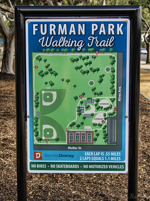 Furman Park Walking Trail
