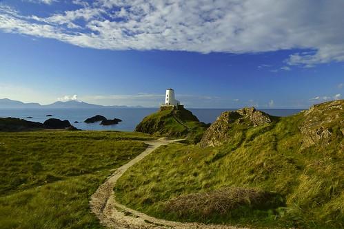 uk sea lighthouse wales llanddwyn newborough